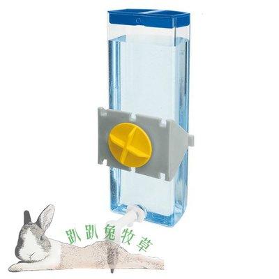 【趴趴兔牧草】義大利飛寶Ferplast 頂針式飲水器 600ml 兔 天竺鼠