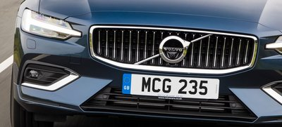 new V60 S60頂級Inscription直瀑式鍍鉻水箱護罩 VOLVO正廠零件 義大利製造 德國原裝進口
