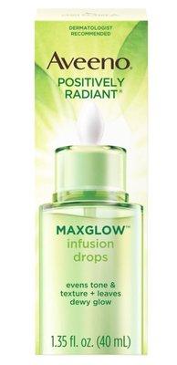 Aveeno Positively Radiant Maxglow艾維諾容光煥發亮麗大豆精華萃取/奇異果注入式水滴40ml