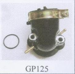 機車配件販售-KYMCO  GP125 化油器岐管/進氣管 原廠型副廠品