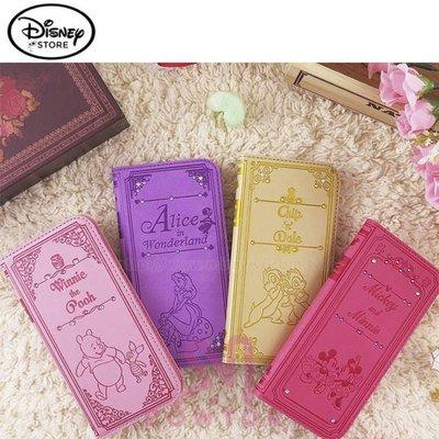 光華商場。包你個頭【迪士尼】iPhone7/8 4.7吋 施華洛世奇水鑽皮套 米奇米妮 維尼小豬 奇奇蒂蒂 愛麗絲