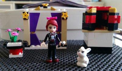 二手【LEGO樂高積木】Friends系列mia米雅的魔術表演