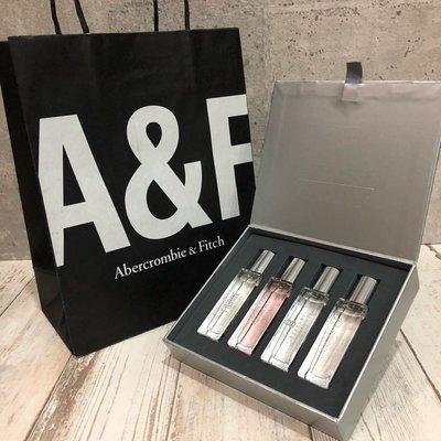 Maple麋鹿小舖 Abercrombie&Fitch *A&F女生香水禮盒組 COLLECTION GIFT SET