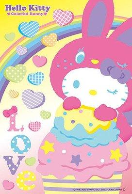 協泰拼圖舖-現貨 BEV-M108-043  Hello Kitty x 星塵傳播 108迷你片 Beverly
