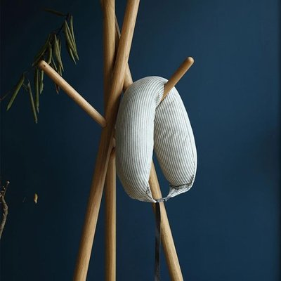 天然乳膠顆粒U型枕辦公午睡枕旅行枕護頸枕記憶枕頭