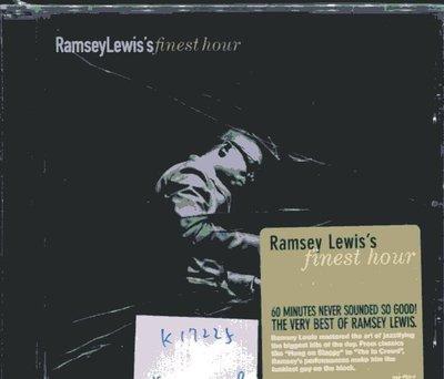 *真音樂* RAMSEYLEWIS'S / FINEST HOUR 全新 K17225 (殼破)
