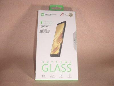 Samsung Galaxy A60專用 全膠底黏力全覆蓋曲芒顯示!香港行貨 防指紋塗層鋼化玻璃貼