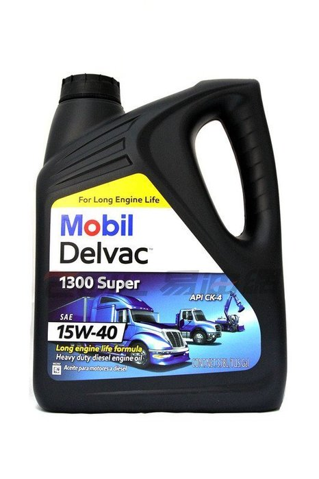 【易油網】Mobil Delvac 1300 Super 15W-40 柴油引擎機油 5期環保車輛