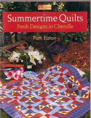 【傑美屋-縫紉之家】美國拼布書籍~Summertime Quilts 夏季被子#3070
