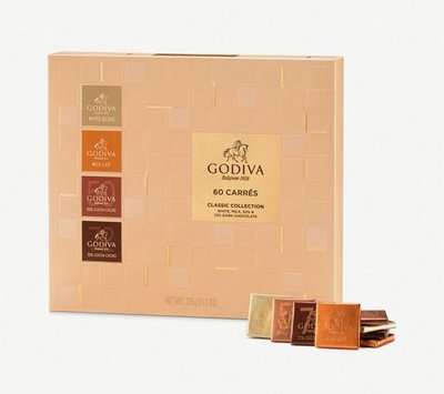 Godiva assorted classic collection chocolate 60 pieces (雜錦朱古力 60塊)