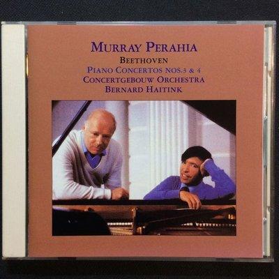 Beethoven貝多芬-第三、四鋼琴協奏曲 普萊亞/鋼琴 1986年老日本版無ifpi