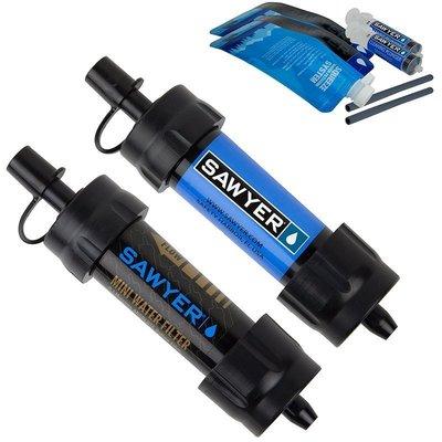 【戶外便利屋】補貨中 Sawyer MINI Water Filter (SP2105) 超輕量隨身濾水器(兩支套組)