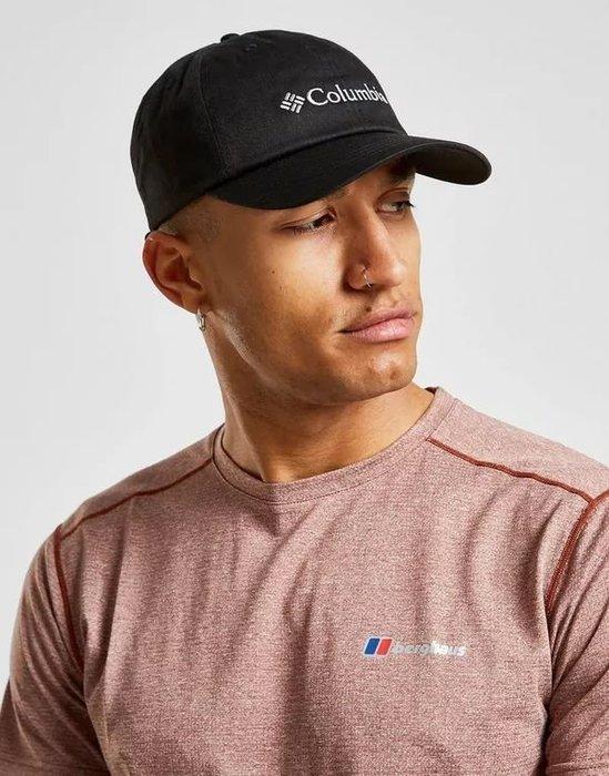 南 現 Columbia CAP 運動帽子 帽子 老帽 哥倫比亞 男女 小孩 可調式 黑色 粉紅色 電繡 戶外 透氣