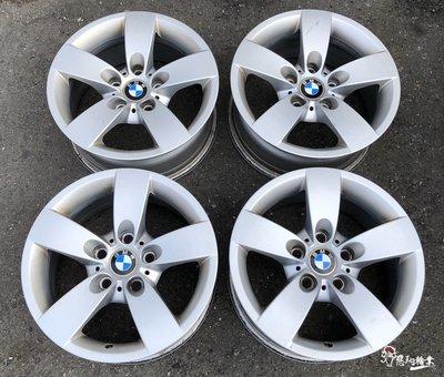 二手/ 中古鋁圈 BMW E60 16吋 5孔120 原廠 銀 E32 E34 E38 E39 E90 520 T5 T6 新北市