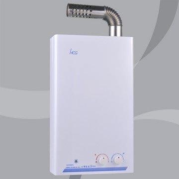 台中興大水電衛浴設備-台灣製HCG和成原廠gh-585 強制排氣 熱水器