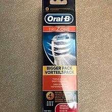 原廠 Oral-B EB 30 三重潔淨牙刷頭 (4件裝) (包郵)