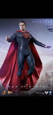全新Hottoys MMS200 hot toys Man of Steel 超人