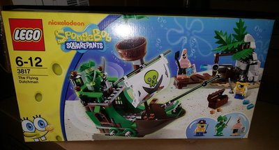 MISB LEGO SpongeBob SquarePants - The Flying Dutchman (3817)