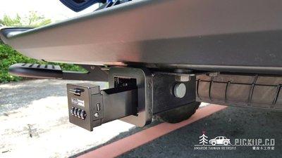 拖車座密碼鎖 保險箱 美式拖車鉤專用(AMAROK RANGER HILUX TACOMA)