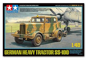 田宮拼裝戰車模型32593 1/48 Heavy Tractor SS-100