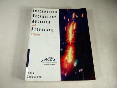 【考試院二手書】《Information Technology Auditing and Assurance》│Baker & Taylor Books │(31F13)