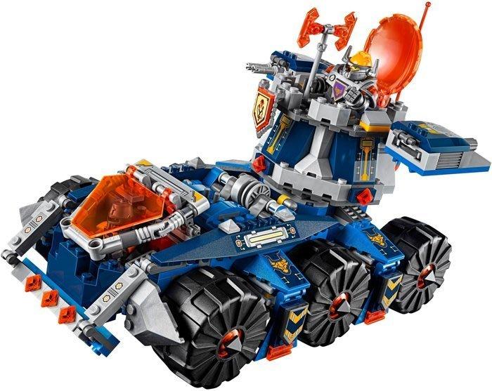 現貨【LEGO 樂高】全新正品 益智玩具 積木/ 未來騎士團: 單一載具 - 艾克索的塔防戰鬥車(無附人偶) 70322