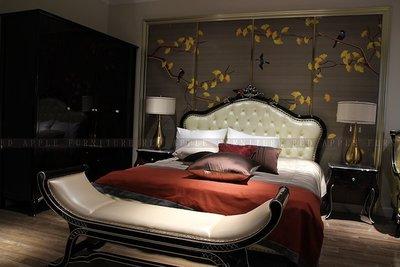 8605 新古典 輕奢系列 六尺床 雙人床架