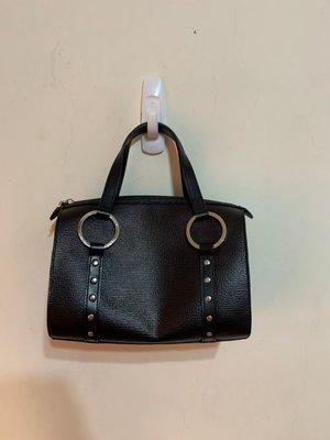 「 二手包 」 ZODENCE 硬殼手提包 ( 黑 )