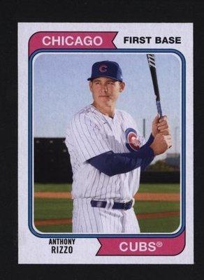 2020 Topps Archives #193 Anthony Rizzo - Chicago Cubs
