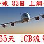 【杰元生活館】全球 83國 365日1GB流量 南美...