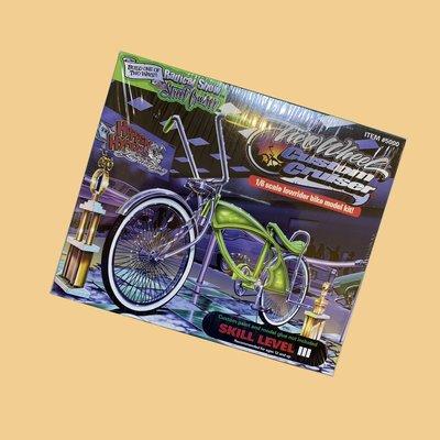 JCI:Two Wheel Custom 1:6 Cruiser LOWRIDER BICYCLE 西岸嘻哈 / 老墨