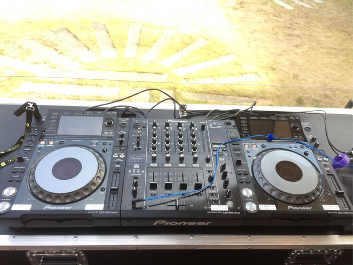 PIONEER DJ  CDJ2000NXSDJM900NXS DJMS9 器材出租 租賃 RANE混音器出租、TECHNICS MK5黑膠唱盤出租