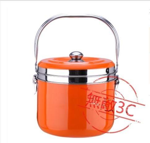不銹鋼節能省電免火再煮鍋兩用湯燉蒸燜燒鍋保溫鍋6.8L