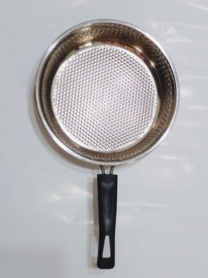 9成9新 瑪露塔#304不鏽鋼26cm蜂巢式平底鍋3.2折 嘉義縣