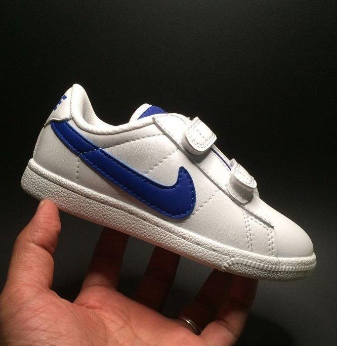 免運【日貨代購屋】代購 日本正品 nike Court Royale tennis 魔鬼氈 童鞋 小板鞋 男童 女童