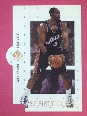 1998-99 SP Authentic SP First Class #FC28 Karl Malone Jazz