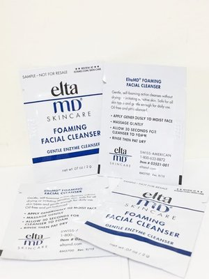 EltaMD胺基酸泡沫潔面乳 Foaming Facial Cleanser 旅行包 2ml 一包20五包80買5再送1