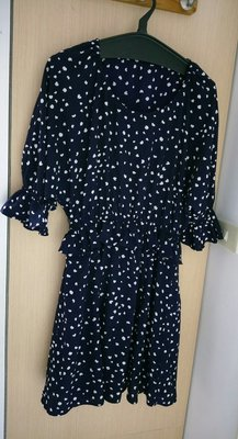 Snide 深藍色♥洋裝