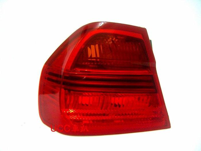 【UCC車趴】BMW 寶馬 E90 4門 4D 05(6月)-07 08 原廠型 紅黃尾燈 (TYC製) 一組3800
