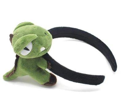 立體恐龍髮飾【NT032】3款髮圈 髮箍 髮夾 頭飾胸針鑰匙圈恐龍鑰匙扣吊飾絨毛恐龍