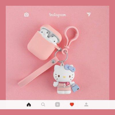 藍芽耳機airpods保護套 可愛貓airpods2保護套蘋果無線藍牙耳機盒子殼