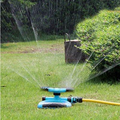【單旋轉噴頭+單接頭-KN247-1套/組】4分雙通多串聯園藝園林草坪農用自動灑水器-5170855