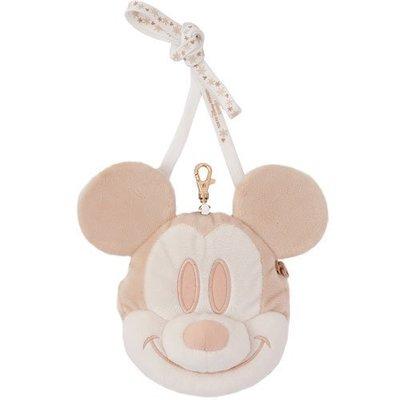 (預購)保證真品 日本空運代購 東京迪士尼 冬季雪白款零錢 / 票卡 / 斜背包