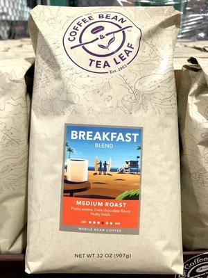 Costco好市多 COFFEE BEAN&TEA LEAF 早餐綜合咖啡豆 907g  medium roast