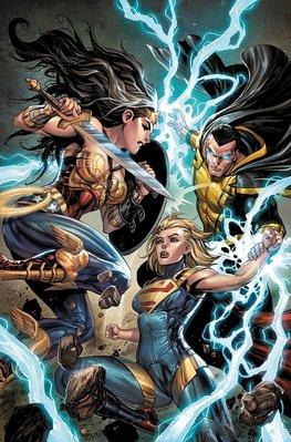 【布魯樂】《12月預購中》[美版書籍] DC超級英雄《不義聯盟2 Injustice》原文漫畫Vol.4(精裝)