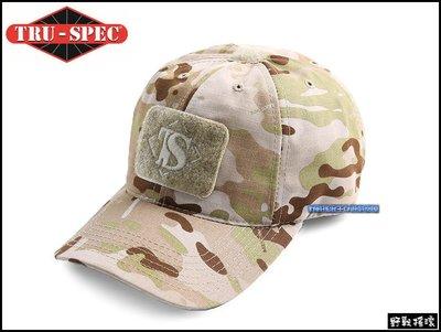 【野戰搖滾-生存遊戲】美國 TRU-SPEC 傭兵戰術棒球帽、小帽【Multicam Arid】沙漠多地形迷彩可調軍帽