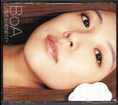 八八 - BoA - LOVE & HONESTY - 日版 CD+DVD