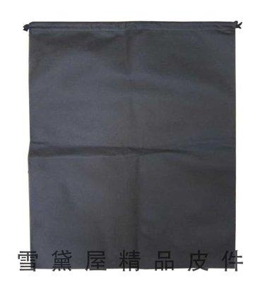 ~雪黛屋~防塵套包包物品收納防塵套男女包皆可使用收納必備防水不織布材質可A4資料夾可摺疊收納展開收納束口#5048(大)