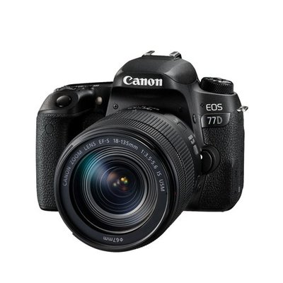 CANON EOS/77D/EF-S/18-135MM  EOS 77D旅遊鏡組(EF-S 18-135mm IS US