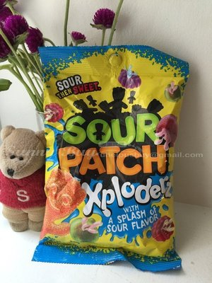 【Sunny Buy】◎預購◎ sour patch xploderz 小酸人 酸味水果軟糖 184g
